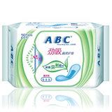 ABC超吸棉柔护垫25片