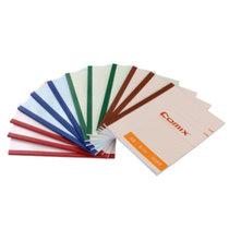 齊心(COMIX) C4504 軟抄筆記本  A5 12本裝  無線裝訂軟抄筆記本學生軟面抄記事本