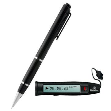 麦格菲斯(megafeis)录音笔 专业笔形 微型高清降噪远距离充电 隐形