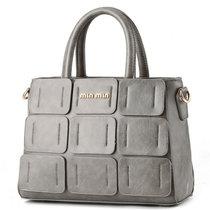 DS.JIEZOU女包手提包单肩包斜跨包时尚商务女士包小包聚会休闲包9391(DS8874灰色)