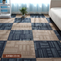 办公室地毯拼接方块pvc纯色卧?#34915;?#38138;房间寝室客厅家用商用写字楼(白羊座H-05+06)