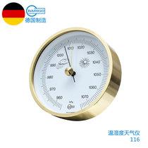 百瑞高(BARIGO)德国原装进口天气仪温度湿度计送客户商务礼品手工创意摆件礼物(116)