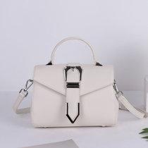 Svale诗薇儿新款小方包小包身大容量波士顿包时尚手提包单肩包女包女士斜挎包01-GM80631(白色)