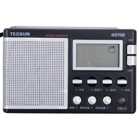 德生(tecsun)r-9702收音机(黑色)