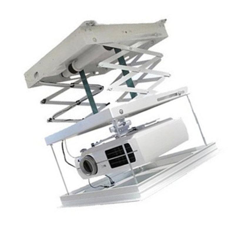 胜新胜新 n5投影机电动吊架 无线遥控通用升降支架 投影仪电动吊架 1.