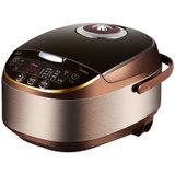 美的(Midea)MB-WFS4017TM电饭煲(4L巧克力色 支持24小时预约 立体加热)