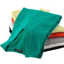 bebeeru 春秋新款韩版男装毛衣针织衫 男士修身翻领原创套头针织衫S2322(QB125毛衣翠绿色)