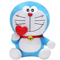 哆啦A梦可爱动漫卡通爱心款毛绒公仔38cm