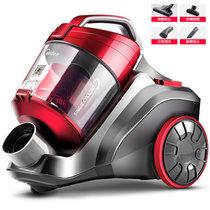 美的(Midea)C3-L148B 吸尘器(家用手持式超静音除螨地毯大功?#24066;?#22411;迷你)(红色)