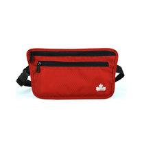 MASCOMMA 貼身腰包證件包護照包 防盜腰包BS01006(紅色)