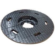 威马洗地机刷地机配件 地毯刷 针盘 洗地刷(黑色 针盘)