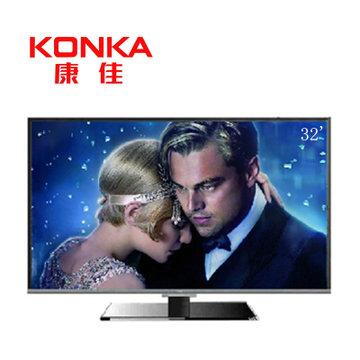 康佳电视 led32f1170cf/led32f2000c随机发货 32英寸 窄边薄款平板