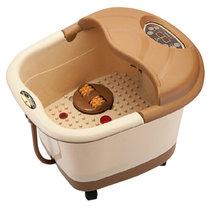 宋金SJ-555足浴器电动按摩自动加热恒温足浴盆自动按摩足浴器深桶洗脚盆泡脚盆足浴桶脚底按摩器美足宝足疗机气血循环机