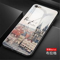 iphone6plus手机壳苹果6splus保护套6plus/6splus?#20449;?#20840;包防摔日韩个性创意手机套潮牌镜面彩绘外壳(图4)