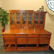 红木家具2米红木书桌?#30340;?#32769;板台办公桌大班台非洲黄花梨木
