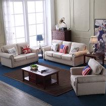浪漫星 沙发 布艺沙发 美式乡村布艺沙发小户型 北欧沙发 689#(双位)