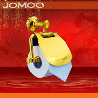 jomoo九牧 金色纸巾架 全铜镀金 卷纸架 纸巾盒/架 厕纸盒936807