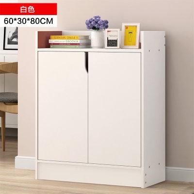 物植 收纳鞋柜 ZT-01(60cm白色)