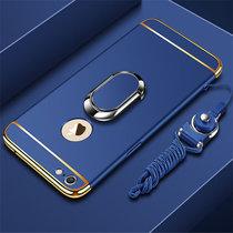 苹果6手机壳 iphone6s保护套 苹果iphone6 4.7英寸个性创意拼接防摔电镀硬手机保护壳壳送全屏钢化膜(图4)