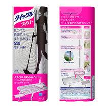 【進口包郵】花王(KAO)懶人靜電拖把 免洗平板拖布 替換除塵紙干巾濕巾