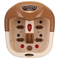 宋金SJ-817足浴器养身手提式电动足浴盆自动加热恒温按摩足浴器足疗盆泡脚盆洗脚盆足疗机气血循环机脚底按摩器洗脚桶搓脚桶(半盖式)