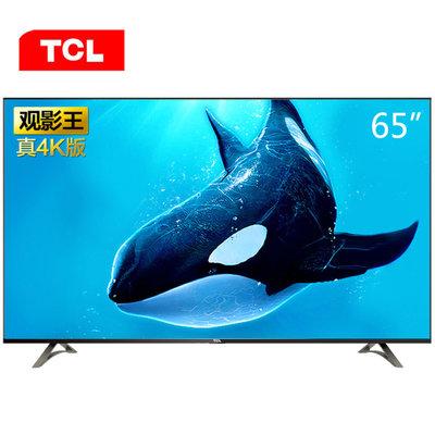 历史低价:  2599元包邮 TCL 观影王 D65A620U 65英寸 4K 液晶电视
