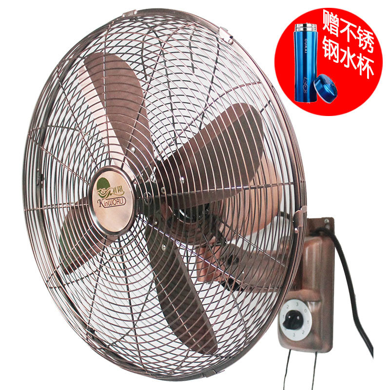 祥阳fw-40m电风扇/仿古扇 壁扇 家用静音金属壁挂拉绳