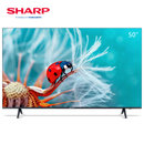 夏普 (SHARP) 50X6PLUS 50英寸4K超清1.5G+16G安卓智能網絡家用平板電視黑色