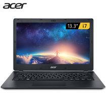 宏碁(Acer)墨舞 TMP238笔记本电脑高清雾面屏金属拉丝13.3英寸 轻薄便携商务笔记本电脑 intel酷睿CPU(i5/ 8G /256G  普分屏)