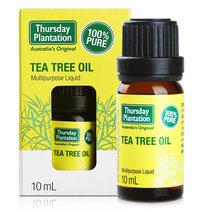 星期四茶樹(Thursday Plantation)茶樹油祛痘控油抗痘溶解黑頭粉刺單方精油10ml(茶樹油)