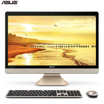 华硕(ASUS)如意一体机 V221IDUK系列 22英寸家用办公一体机电脑 inter处理器/4G/1T/集显(BA143T 4G/1T黑有线)