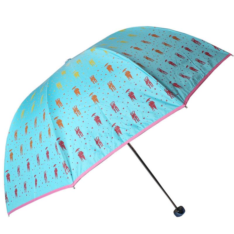 收雨伞步骤图片大全