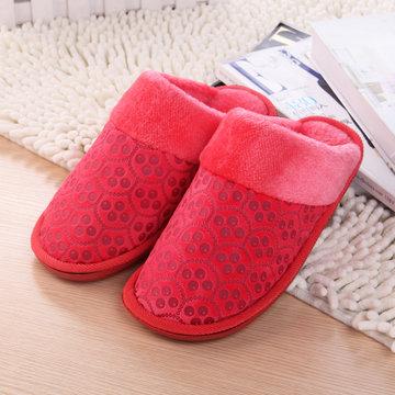 猫爪图案棉拖0211(大红色 270(适合38-39))