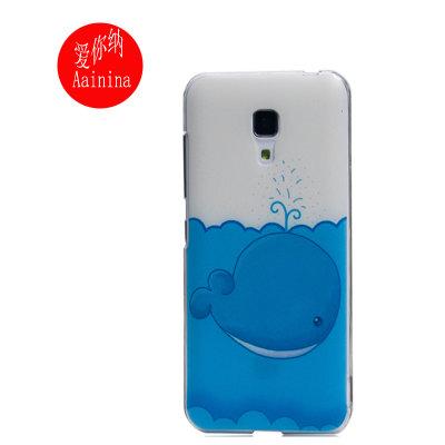 小米2a手机外壳套 彩绘保护套(可爱小鲸鱼)