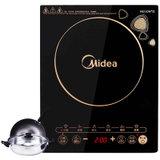 美的(Midea) WK2102T 大功率 多功能 智能触控 电磁炉 (送汤锅+炒锅)
