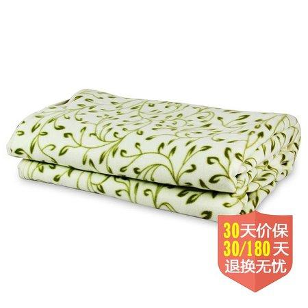 彩虹tk180*150-1xd数字显示自动控温电热毯(双人多温区舒适绒)