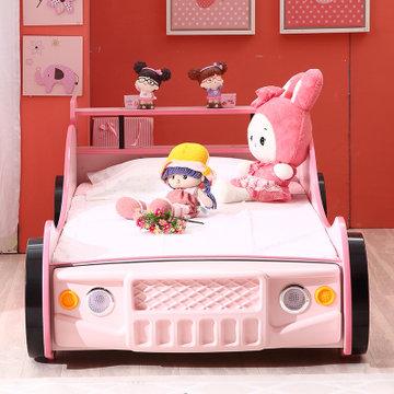 魔力家居可爱汽车造型儿童床