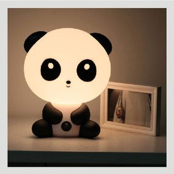 可爱儿童小台灯卡通熊猫小夜灯护眼装饰(小熊猫 不带光源)