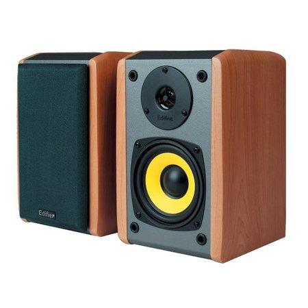 漫步者(edifier)R1000TC北美版 2.0声道电脑音箱【国美自营 品质保证】2.0声道、双立体声RCA接口,A口高音提升