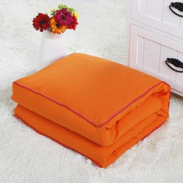 居家爱家纺 纯色抱枕被 办公室靠垫被子汽车靠垫 两用