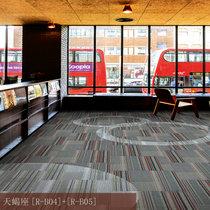 办公室地毯方块写字楼酒店房间卧室客厅家用商用拼接满铺工程地毯(天蝎座R-B04+B05)