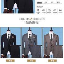 西服套装新郎结婚礼服三件?#23376;?#20262;风小西装伴郎礼服(西装外?#22918;?