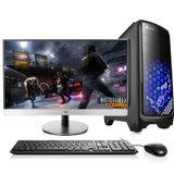 达客 23英寸高端至强E3-1231 V3四核八线程游戏图形设计台式电脑 8G/1T/GTX750TI 2G独显(黑色)