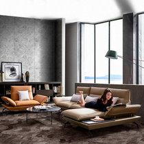 真皮沙发意式轻奢北欧现代简约设计师风格客厅L型转角组合皮沙发(定制颜色不发货 其他)