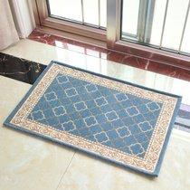 北极绒 2019新品 多尼尔门垫 地垫地毯垫子 长条厨房地垫进门垫(AB0885-天蓝色)