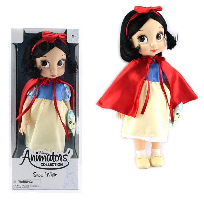 迪士尼动画师系类 沙龙公主 长发娃娃白雪公主/灰姑娘