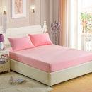 宜恋床笠床单  防滑床垫保护套 双人被单床罩 素色简约风(玉色 床单)