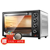 北美电器(ACA)ATO-BGRF32 家用电烤箱 立体热风循环 上下独立控温 内置照明灯 旋转烤架 低恒温发酵(烤箱+礼品套装1)