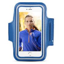 MUNU 魅族跑步運動臂帶 魅藍note3/3S 魅族pro6/pro5/mx5/MX6 魅藍metal 臂帶 臂包(藍色)