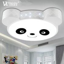 漢斯威諾led兒童燈卡通燈具兒童房吸頂燈熊貓臥室餐廳燈HS102044